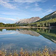 Canadian Rockies Rocky Mountain Lake Art Print