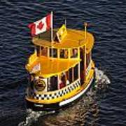 Canadian Water Taxi Art Print