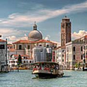 Canal Grande. Venezia Art Print