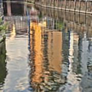 Canal Palette Art Print