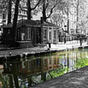 Canal Saint Martin Art Print