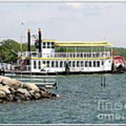 Canandaigua Lady Paddleboat Art Print