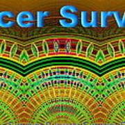 Cancer Survivor Art Print
