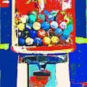 Candy Machine Pop Art Art Print