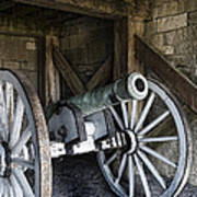 Cannon Storage Art Print by Peter Chilelli