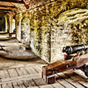 Cannons Of Dover Art Print