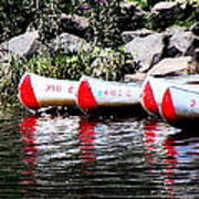 Canoe Rentals On The St Croix Art Print