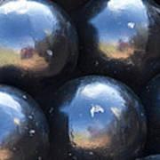 Canon Balls Art Print