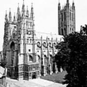 Canterbury Cathedral - England - C 1902 Art Print