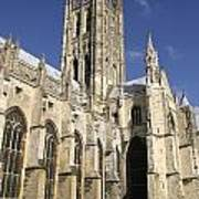 Canterbury Cathedral, Exterior Art Print