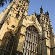 Canterbury Cathedral, Low Angle View Art Print