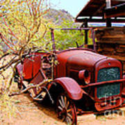 Canyon Creek Ranch Transportation Art Print