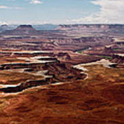 Canyon Lands Art Print