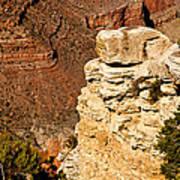 Canyon View V Art Print