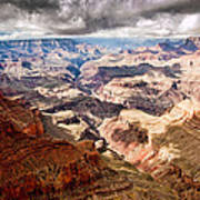 Canyon View Vii Art Print