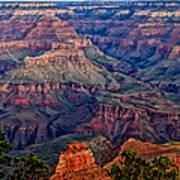 Canyon View X1 Art Print