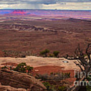 Canyonland Overlook Art Print