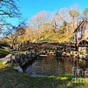 Cape Cod Grist Mill Art Print