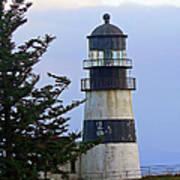 Cape D Lighthouse Art Print