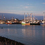 Cape May Fishing Boats Art Print