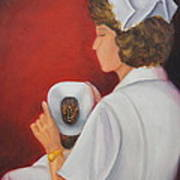 Capping A Tradition Of Nursing Art Print