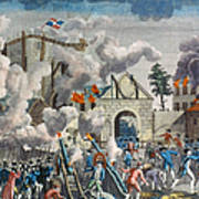 Capture Of Bastille, 1789 Print by Granger