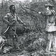 Capture Of Nat Turner, American Rebel Art Print