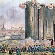 Capture Of The Bastille Art Print