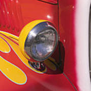 Car Headlight Art Print by Garry Gay