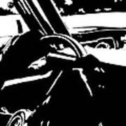 Car Passing Art Print
