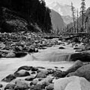 Carbon River Art Print