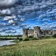Carew Castle Pembrokeshire 3 Art Print