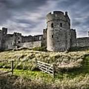 Carew Castle Pembrokeshire Long Exposure 2 Art Print