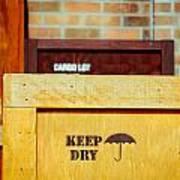 Cargo Crates Art Print