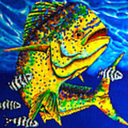 Caribbean Bull Art Print