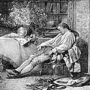 Carl Linnaeus, Swedish Botanist Art Print