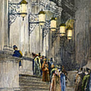 Carnegie Hall, 1891 Art Print