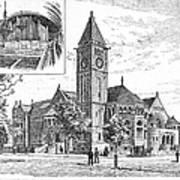 Carnegie Library, 1890 Art Print