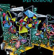 Carnevale Dei Colori - Venezia Art Print