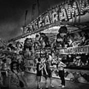 Carnival - Game-a-rama Art Print by Mike Savad