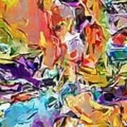 Carnival Abstract 082512 Art Print