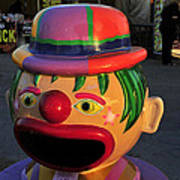 Carnival Clown Art Print