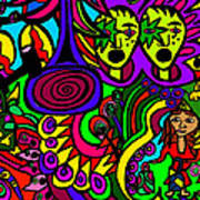 Carnival Day Art Print