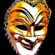 Carnival Mask 2 Art Print