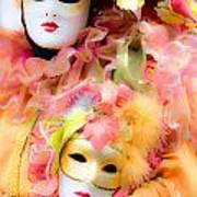 Carnival Mask Art Print