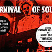 Carnival Of Souls, British Quad Poster Print by Everett