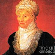 Caroline Herschel, German-british Art Print