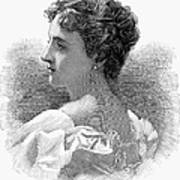 Caroline Lavinia Harrison Art Print by Granger
