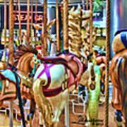 Carousel 7 Hdr Art Print