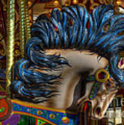 Carousel Beauty Star Of The Show Art Print